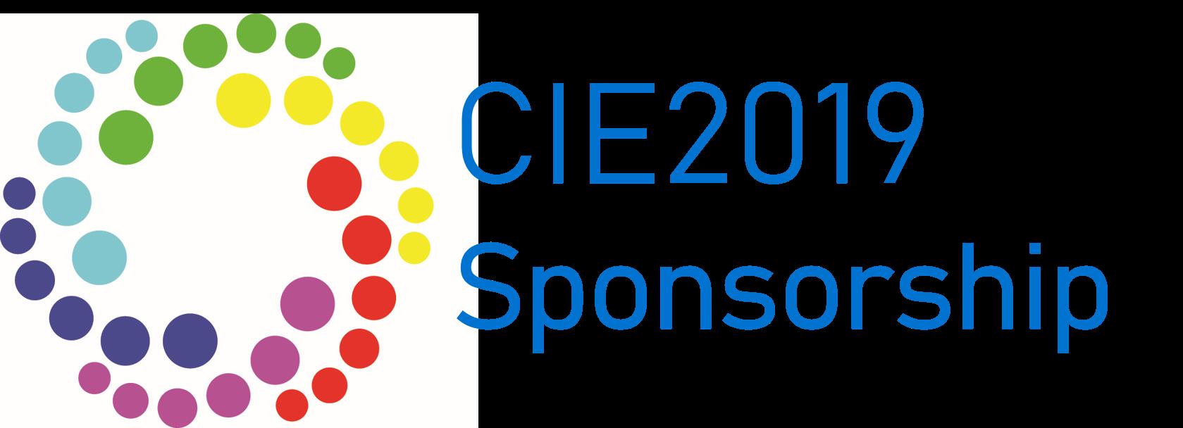 CIE 2019 sponsorship
